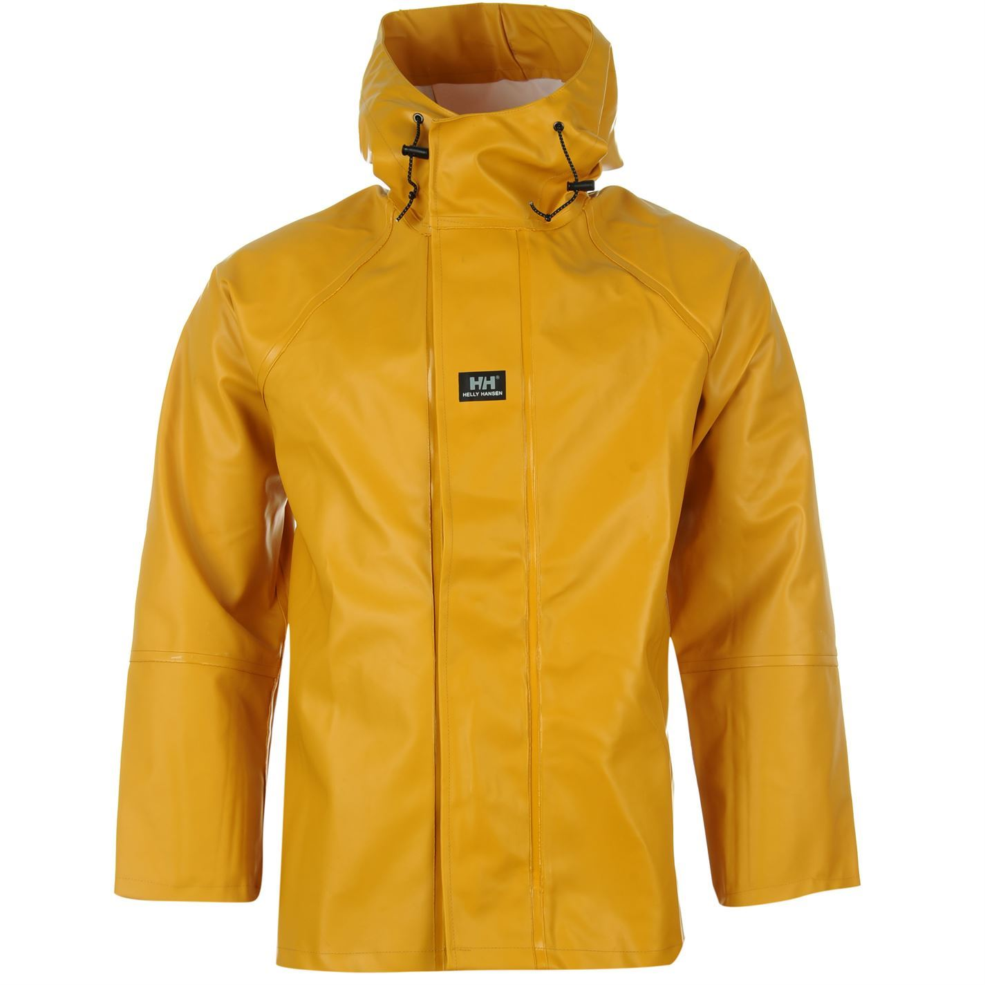 Helly Hansen Mens Narvik Hi Vis Jacket Waterproof Hooded Rain Coat ...