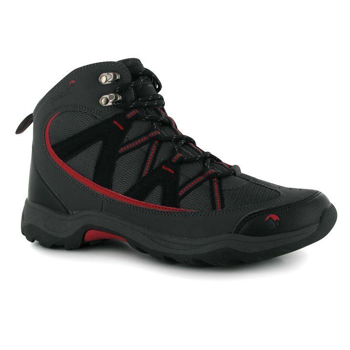 gelert mens ottawa mid walking boots hiking grippy studry