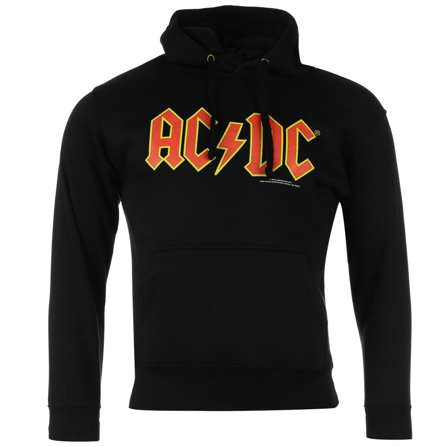 official mens ac dc graphic hoody long sleeve hooded. Black Bedroom Furniture Sets. Home Design Ideas