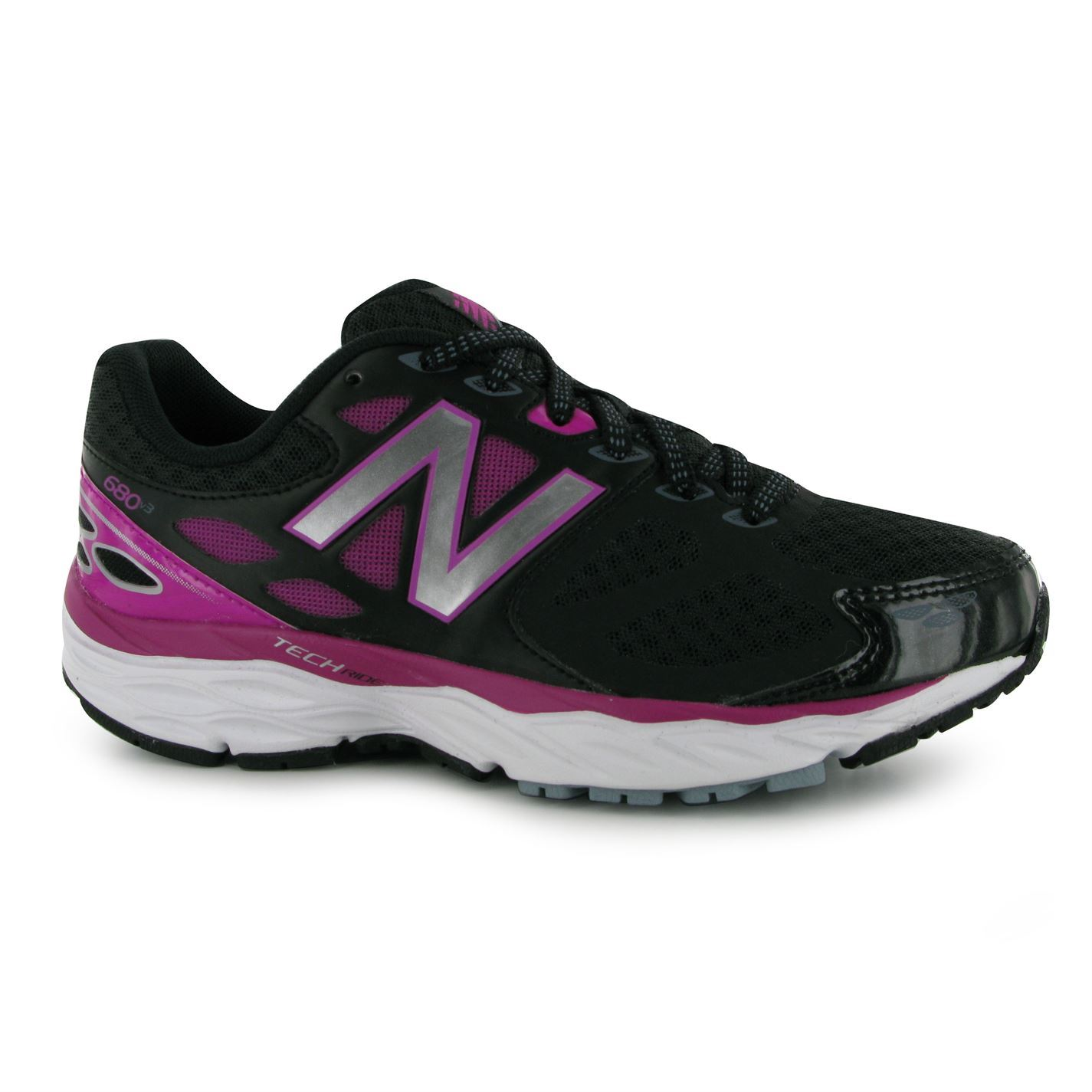 New Balance Womens Ladies W680v3 Running Shoes Lace Up ...