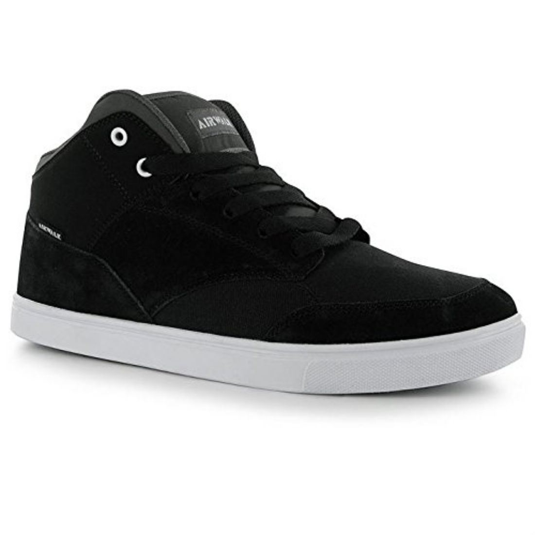 Airwalk Hombre Brock Skate Shoes Negro/Rojo 41 3pfF6e8P