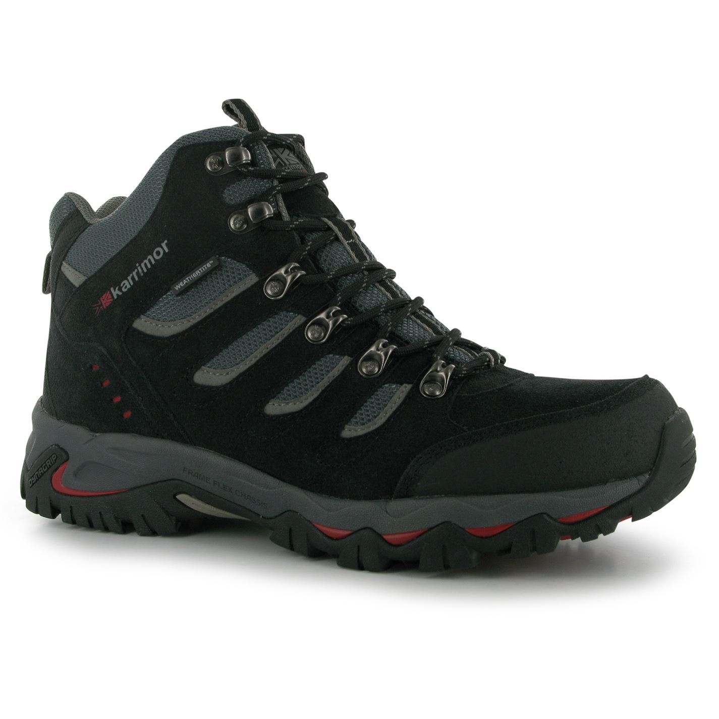 karrimor mens mount mid walking boots shoes breathable
