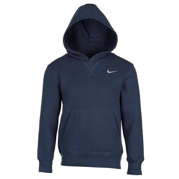 nike kids fund fleece hoody junior boys hoodie hooded top