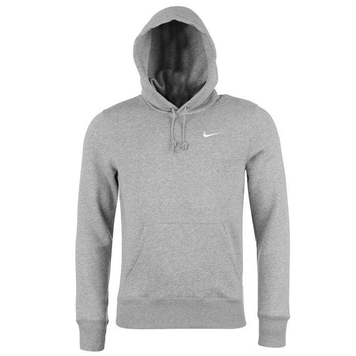 Nike Mens Fundamentals Fleece Hoody Hoodie Hooded Top Kangaroo ...