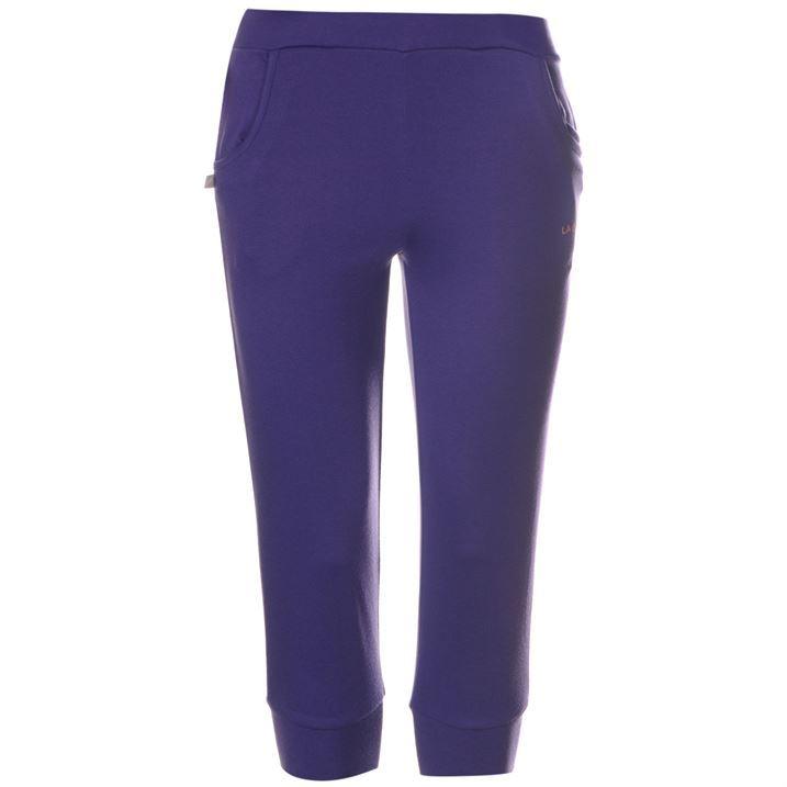 Fantastic  LA Gear Three Quarter Interlock Pants Womens  Womens Jogging Bottoms