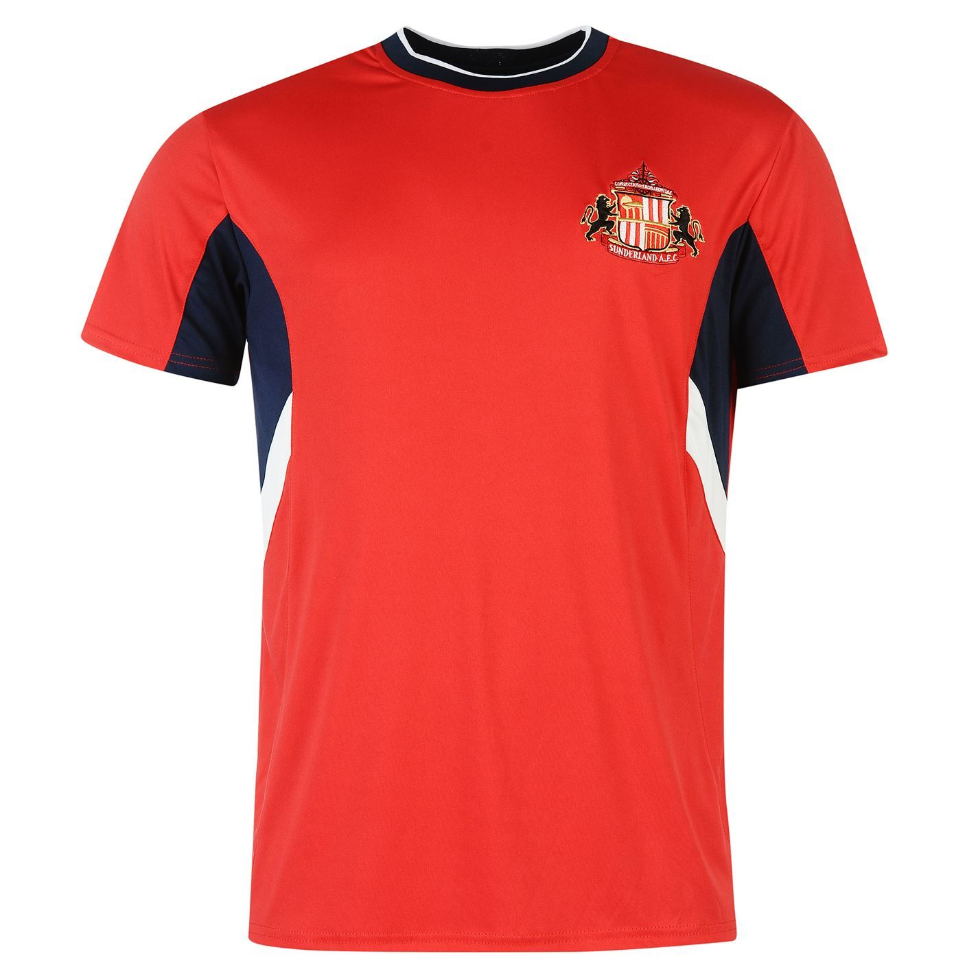 Source lab mens sunderland athletic fc t shirt short for Best athletic dress shirts