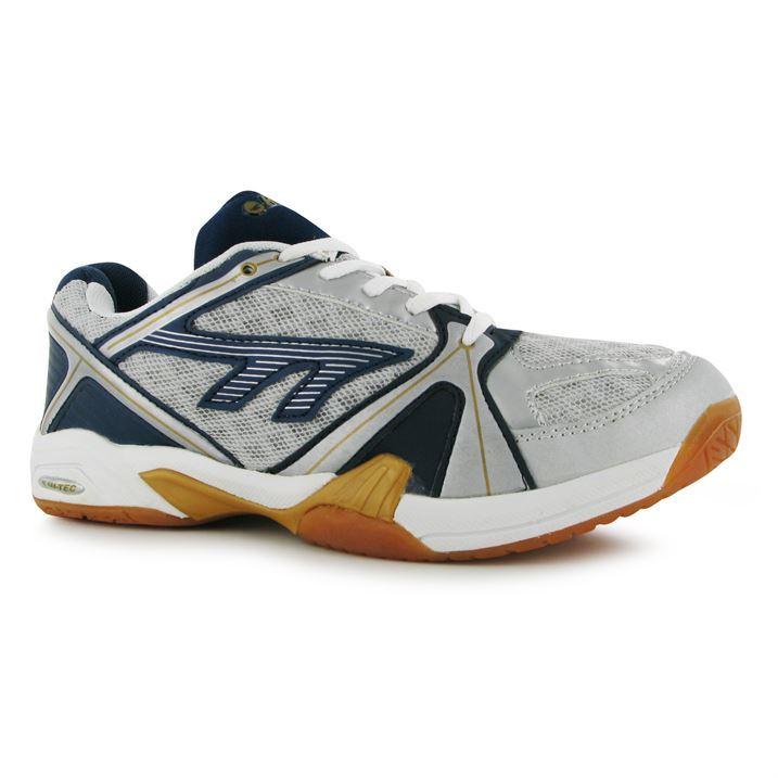 hi tec mens tec court lightweight tennis shoes lace up