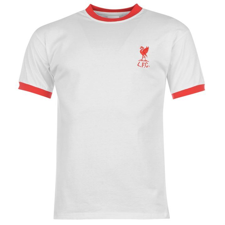Score Draw Mens Liverpool LFC YNWA 73 Premier League Away Jersey T Shirt