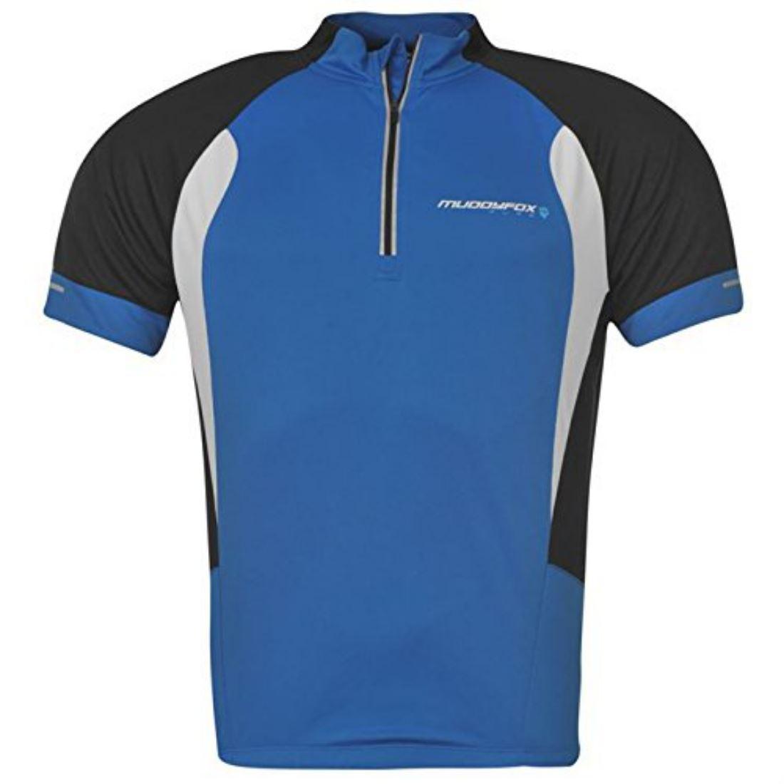 Muddyfox Mens Pure Short Sleeve Cycling Jersey T Shirt Top
