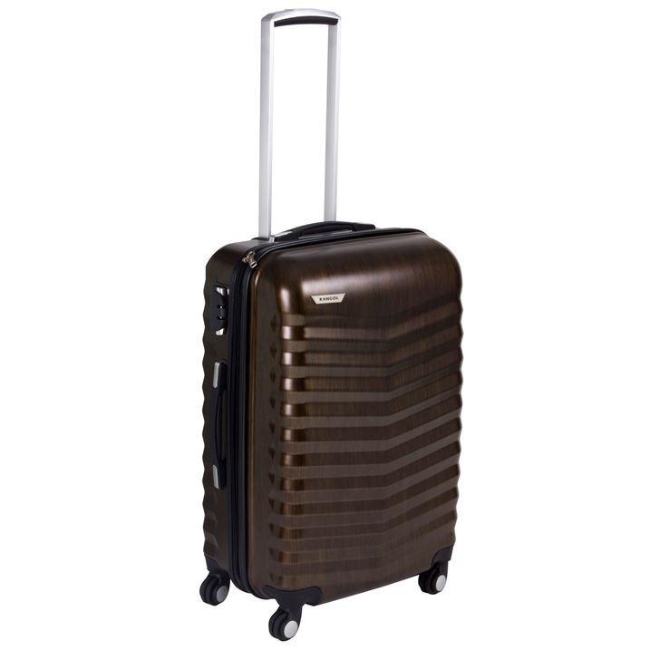 Kangol Unisex Mens Womens Work Travel Luggage Baggage Wheeled Hard ...