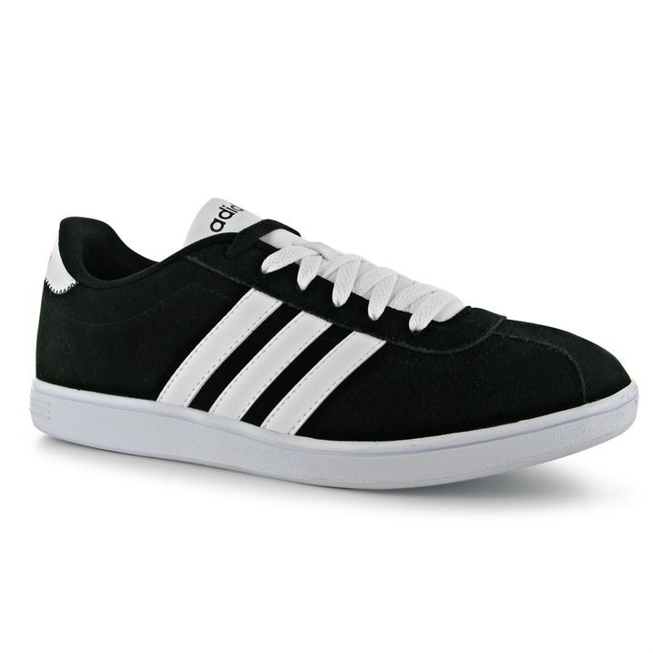 adidas vl court suede trainers pumps running sneakers lace up gents mens ebay. Black Bedroom Furniture Sets. Home Design Ideas