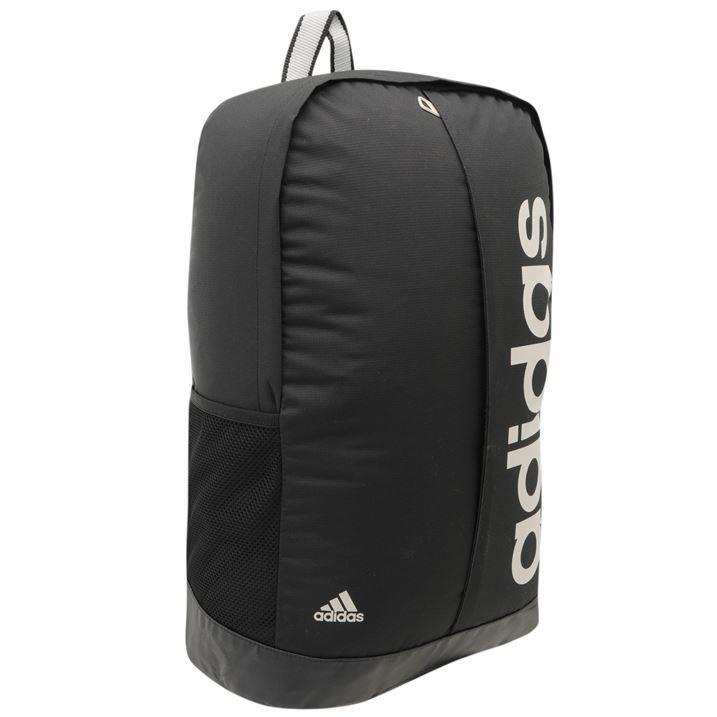adidas Linear Backpack Rucksack Bag Laptop Sleeve Padded ...