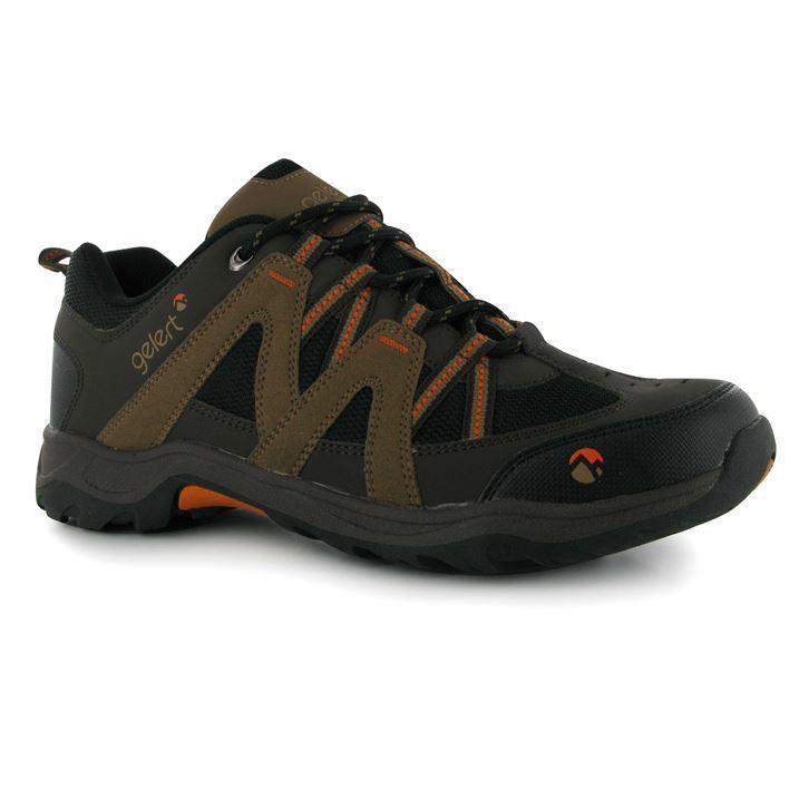 gelert mens ottawa low walking shoes lace up trekking