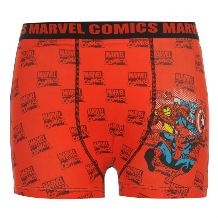 Kids-Marvel-Single-Boxer-Shorts-Infant-New