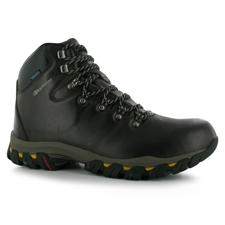 karrimor mens mendip leather walking boots hiking trekking