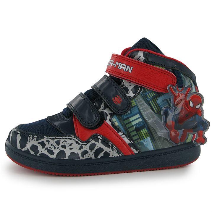 Spiderman toddler sneakers
