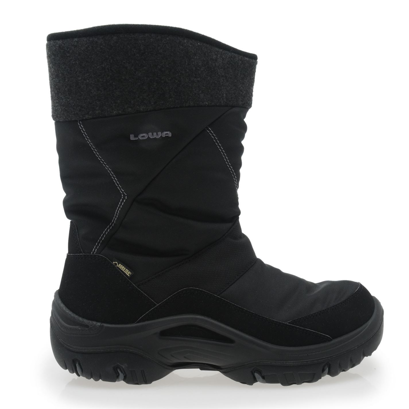 Lowa Mens SAAS GRUND GTX Snow Boots Slip On Winter Shoes | eBay