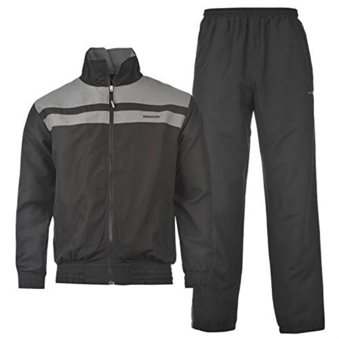 Donnay Mens Wvn Tracksuit Sport Training Full Zip Long Sleeves Activewear