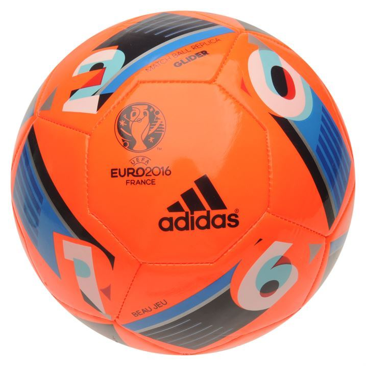 adidas uefa euro 2016 glider replica football ball 14. Black Bedroom Furniture Sets. Home Design Ideas
