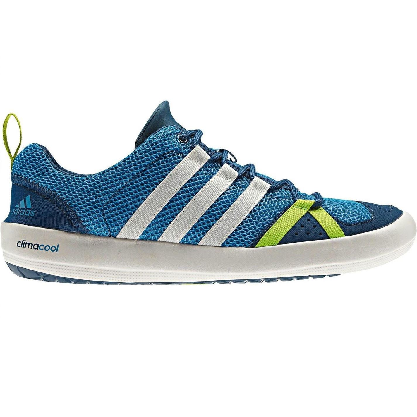 adidas mens climacool boat lace up trainers breathable. Black Bedroom Furniture Sets. Home Design Ideas