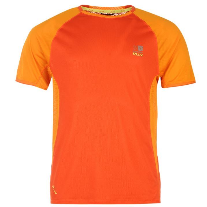 Karrimor mens xlite t shirt short sleeve running jogging for Best mens dress shirts under 50