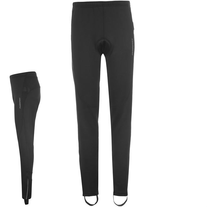 Muddyfox Womens Ladies Cycle Padded Tights Cycle Pants Sport Trousers