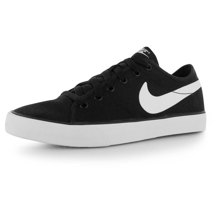 nike womens primo canvas trainers lace up sport