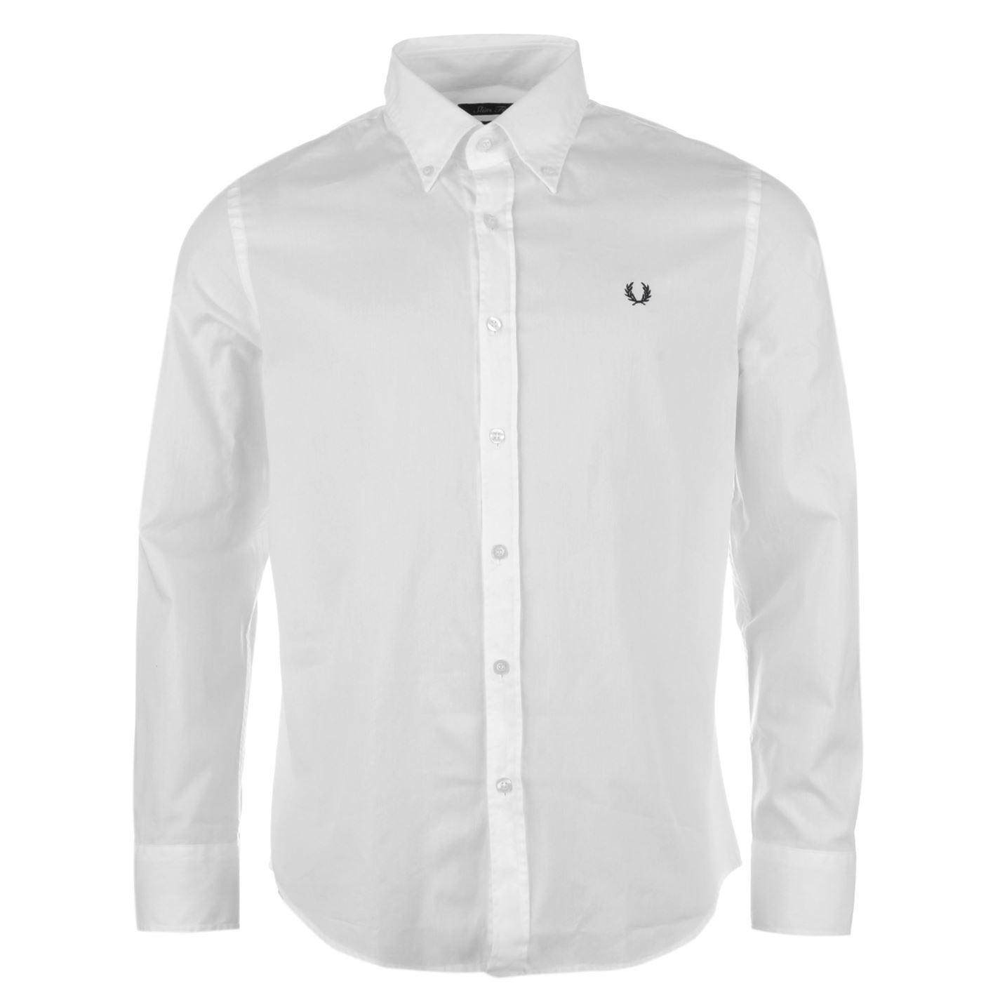 Белое рубашка Fred Perry