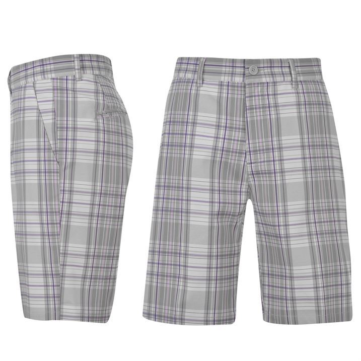 Mens Checked Shorts The Else
