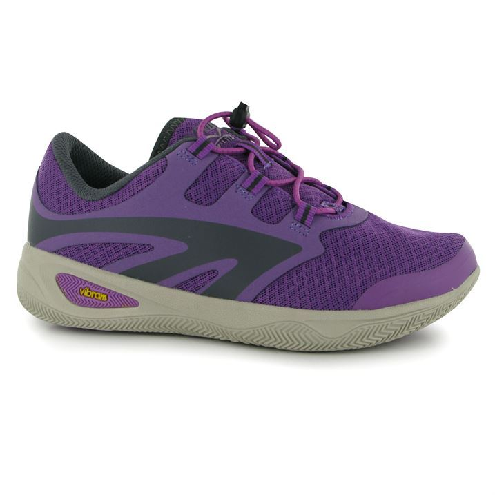 hi tec womens tec race walking shoes lace up hiking