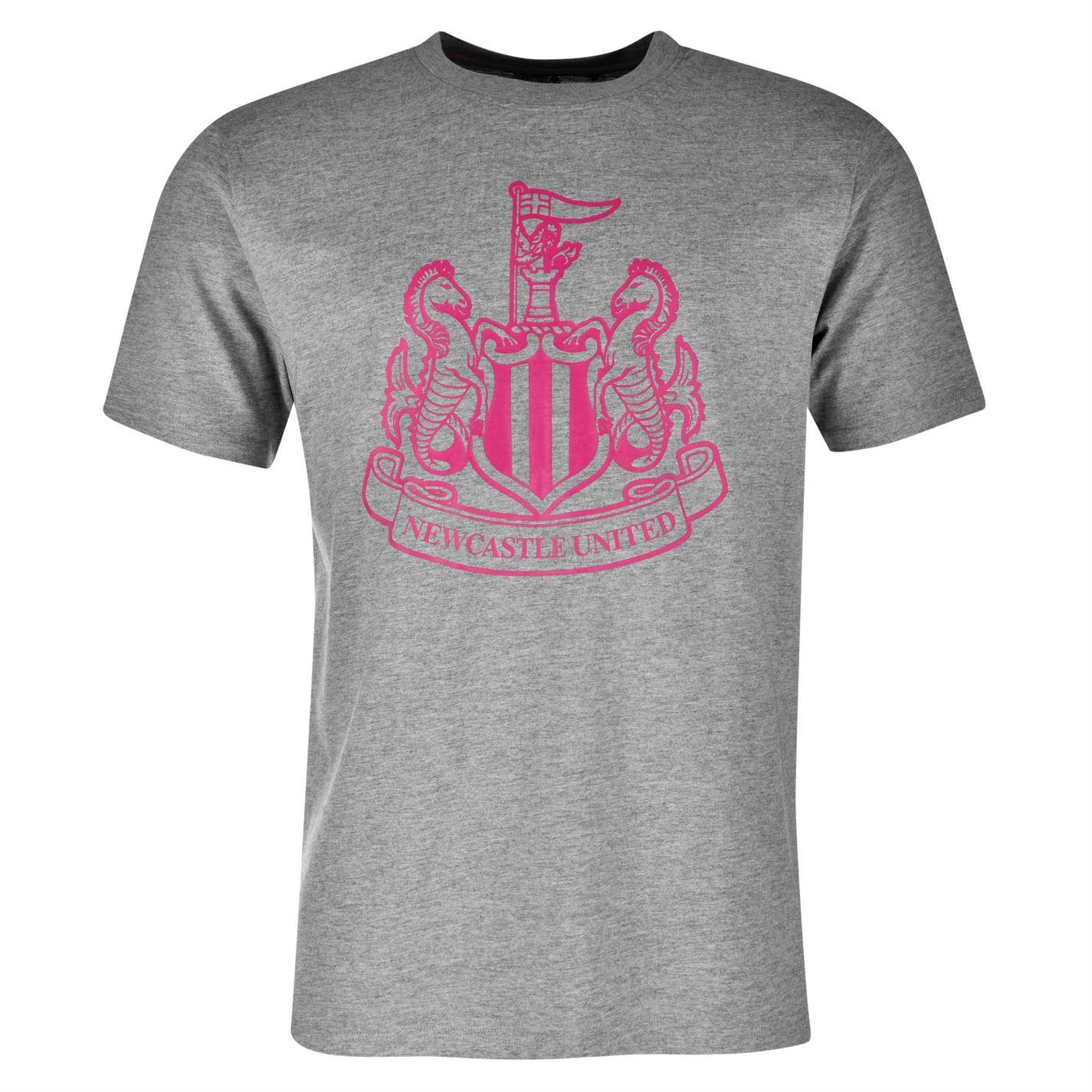 Newcastle united fc kids large crest t shirt junior