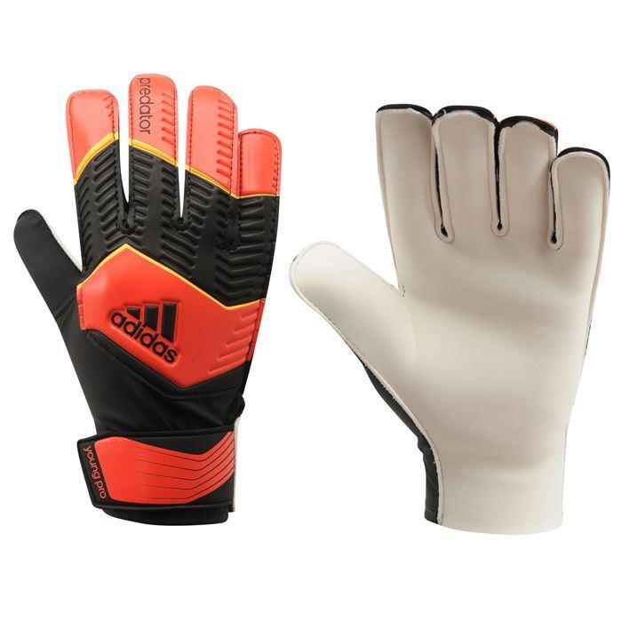 adidas Kids Children Predator Young Pro Goalkeeper Gloves ...
