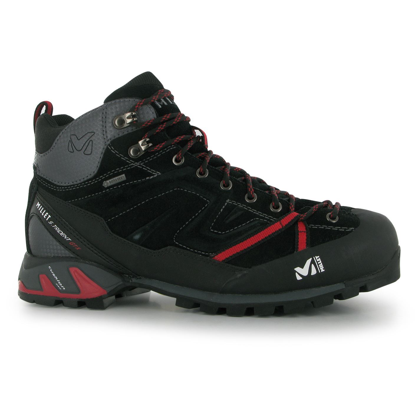 Millet Mens Super Trident Gtx Walking Boots Lace Up Hiking