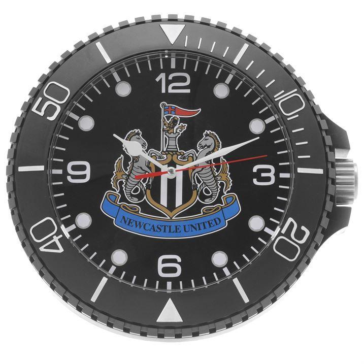 Team Unisex Ice Wall Clock Football Team Logos Accessories ...
