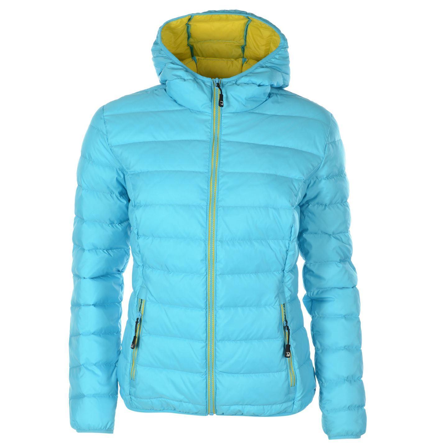 Nevica Womens Ladies Jarina Down Jacket Hooded Hoodie Long Sleeve ...