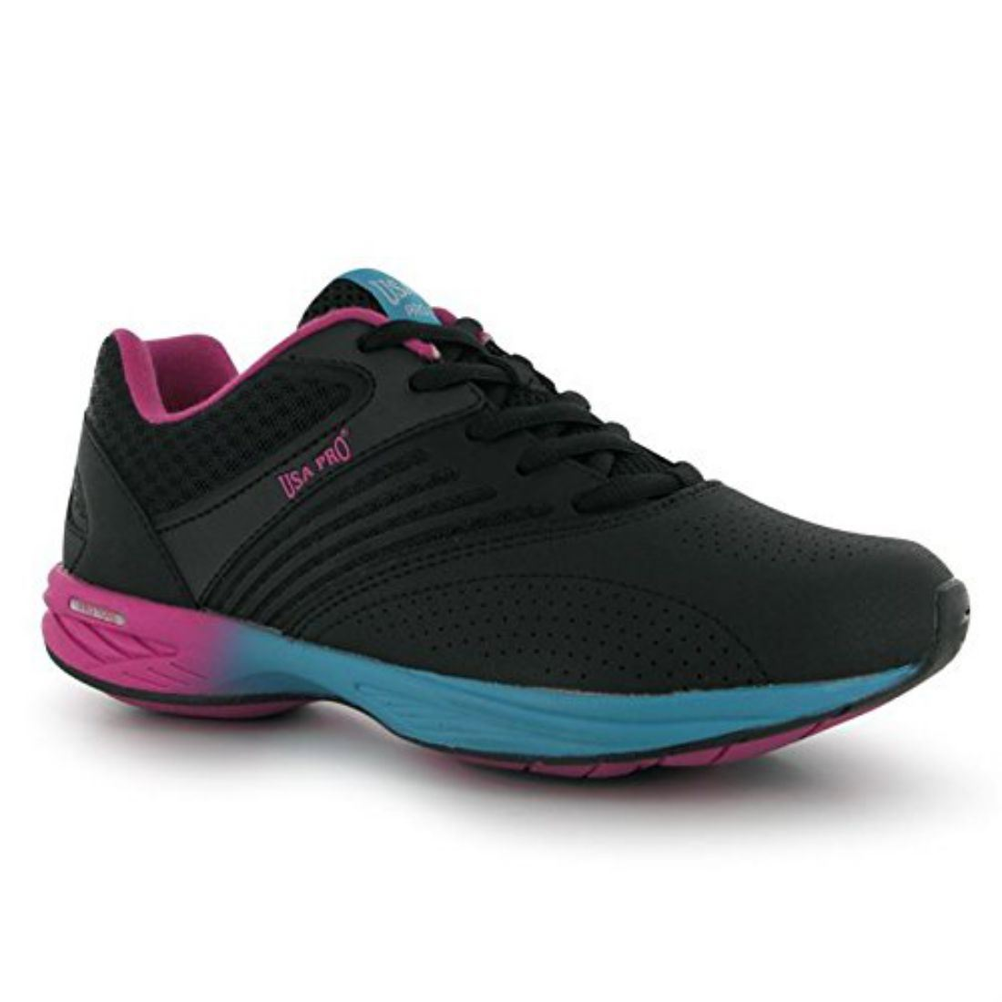 USA Pro Womens Tone Pulse Ladies Toning Shoes Trainers Sport Training Laced