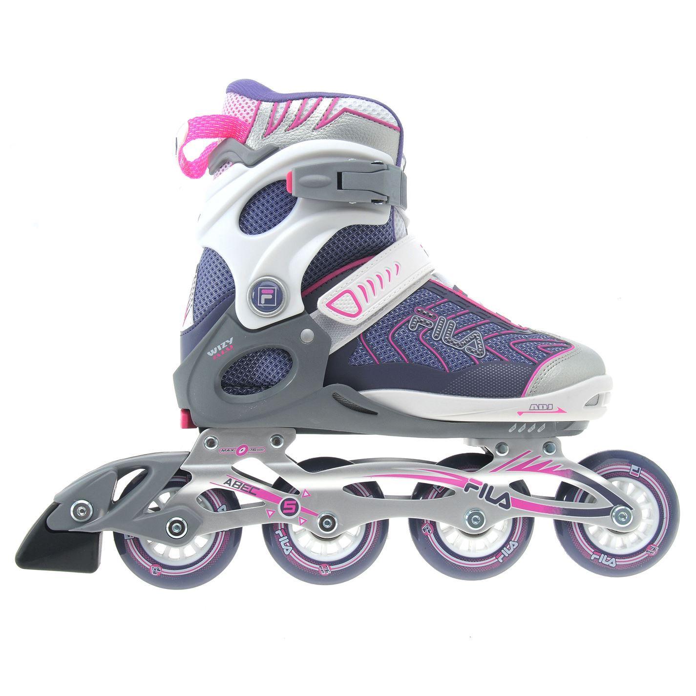 Roller Blades For Girls Fila Kids Wizy Alu Jun...