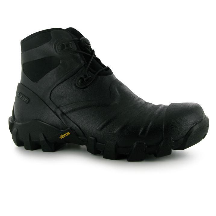 hi tec mens para walking boots waterproof drawstring speed