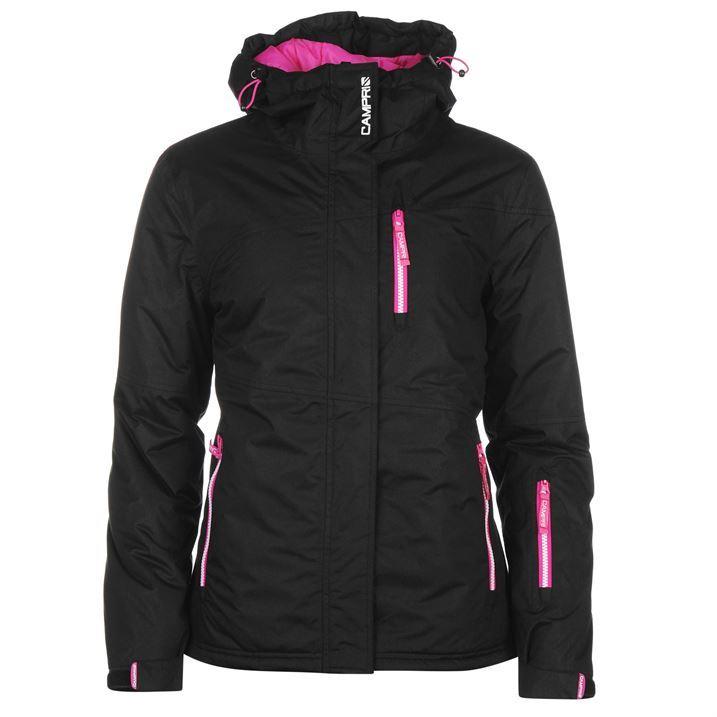 Campri Womens Ski Jacket Snow Winter Sports Chin Guard ...
