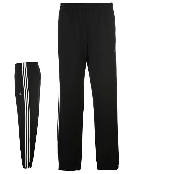 adidas 3 stripe joggers mens