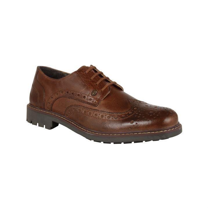 Firetrap Leather Brogue Shoes