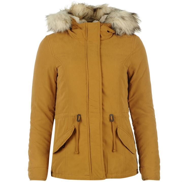 Only Lucca Parka Coat Womens | eBay