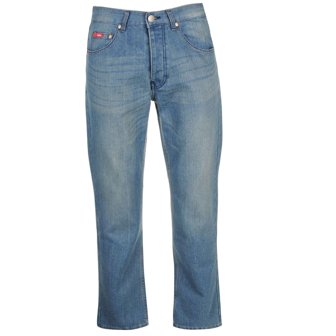 lee cooper mens regular jeans pants trousers casual everyday clothing wear ebay. Black Bedroom Furniture Sets. Home Design Ideas