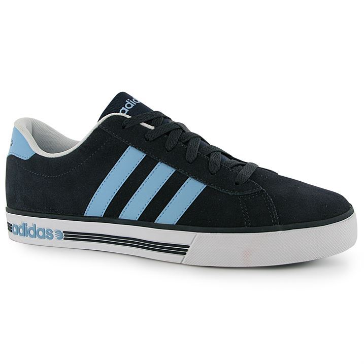 adidas Mens Daily Team Suede Trainers Sneakers Lace