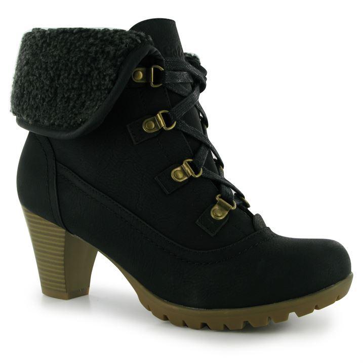 Golddigga Womens Hiker Boots Ladies