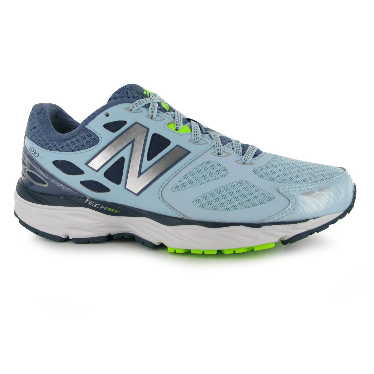 new balance womens w680v3 running shoes lace up