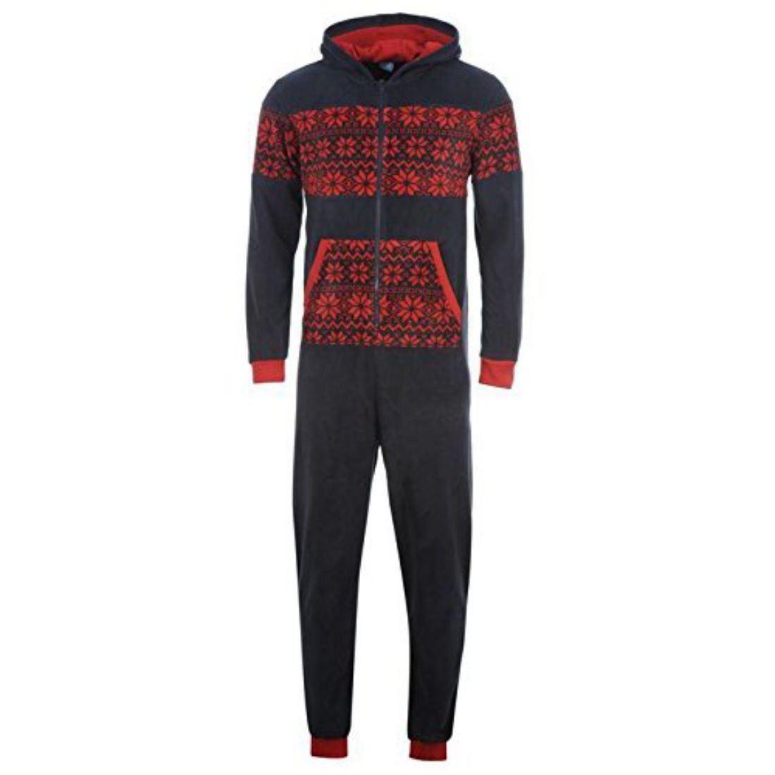 Star mens novelty onesie sleepwear indoor home clothing ebay for Mens dress shirt onesie