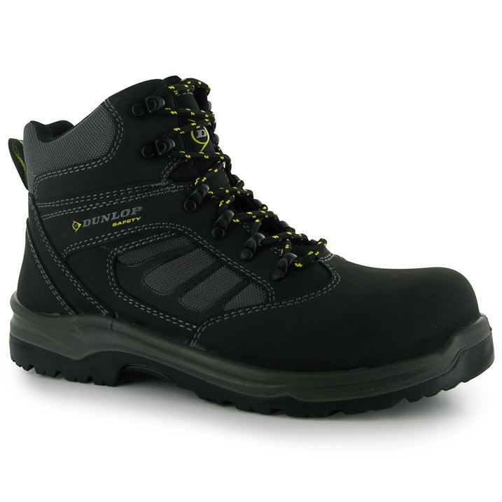 Dunlop Mens Footwear Moulded Rubber Sole Texas Safety Boots Work Shoes | EBay