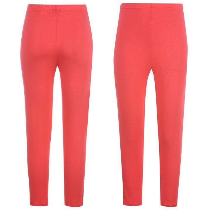 Golddigga Womens Ladies All Over Print Capri Pants Leggings Casual Trousers