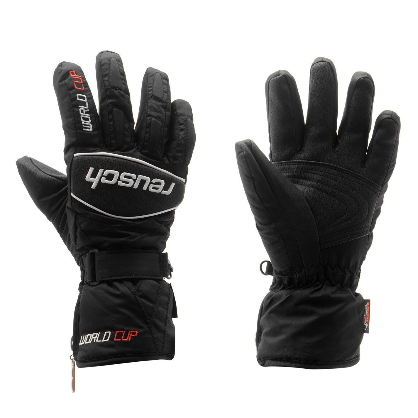 Sport Snow Gloves: Reusch Mens Worldcup Ski Gloves Fleece Mittens Pairs